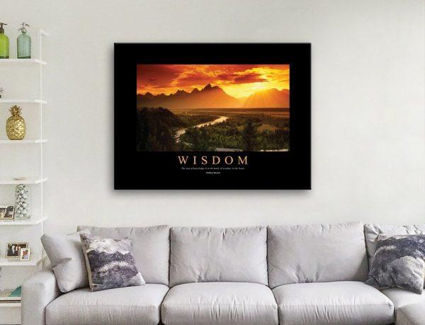 Wisdom Wall Art Great Gift Ideas Online