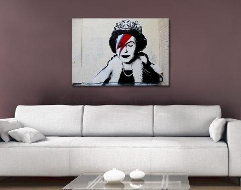 Cheap Banksy Ziggy Stardust Wall Art AU