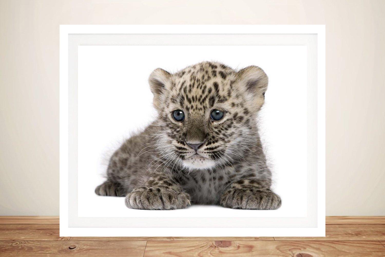 Leopard Cub Affordable Kids Wall Art AU