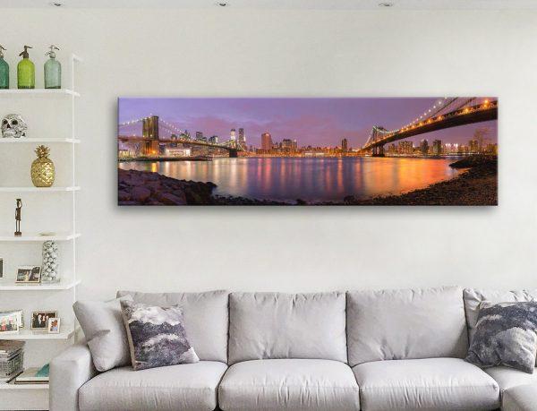 Buy Brooklyn Cityscape Art Great Gift Ideas AU