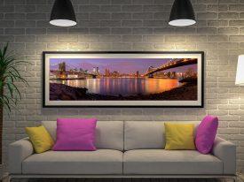 Buy a Brooklyn Skyline Panoramic Print