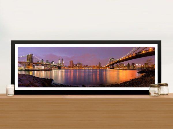 Buy Brooklyn Panoramic Canvas Art Gift Ideas AU