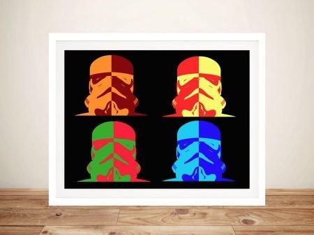 Stormtrooper pop art Australia