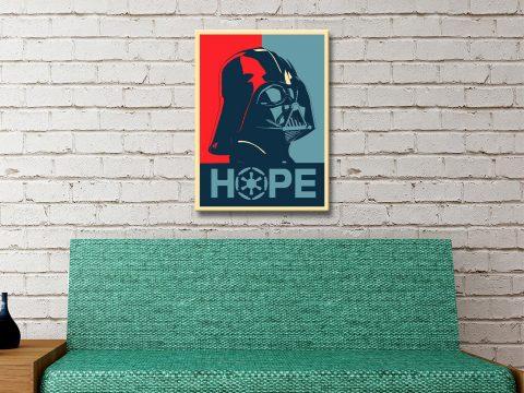 Buy a Ready to Hang Darth Vader Poster Print