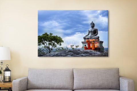 Buddha Canvas Artwork Sydney