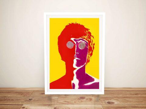 Framed Beatles Pop Art Wall Art Online