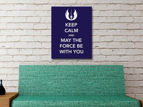 Keep Calm Star Wars Poster Cheap Online