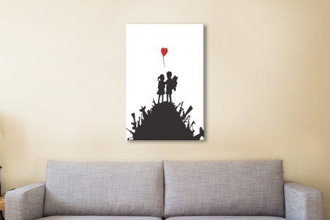 Banksy Canvas Artwork