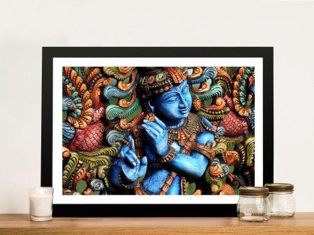 lord krishna Framed Wall Art Australia