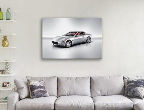 Maserati Canvas Print Great Gift Ideas Online