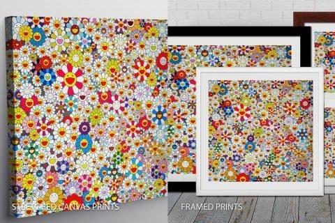 Oeuvres principales Takashi Murakami Quality Print