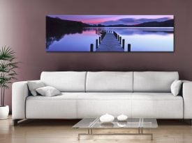 Buy a Panoramic of the Jetty at Coniston Water