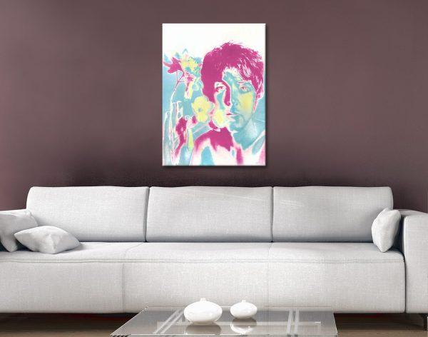 Paul McCartney Warhol Pop Art Gift Ideas AU