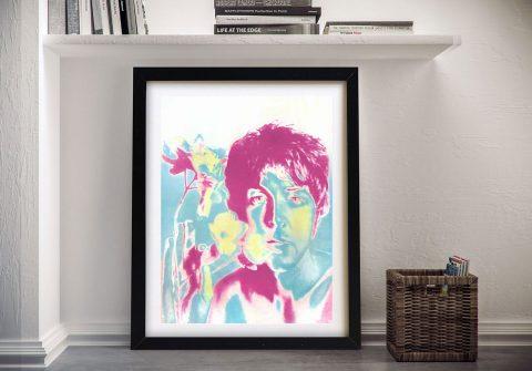 Buy a Framed Paul McCartney Pop Art Print