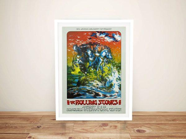 Buy a Rolling Stones Original Gig Poster Print