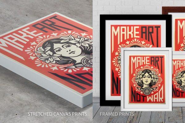 Shepard Fairey Quality Print