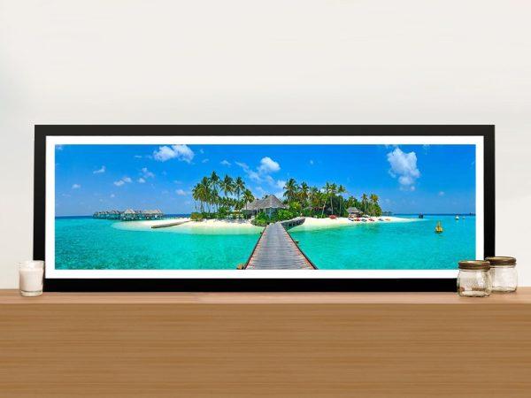 Buy Cheap Tropical Paradise Panoramic Art AU