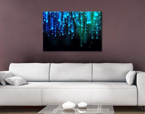 Buy Star Fall Ready to Hang Abstract Wall Art