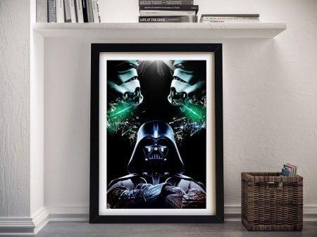 Buy a Framed Darth Vader Print on Canavs