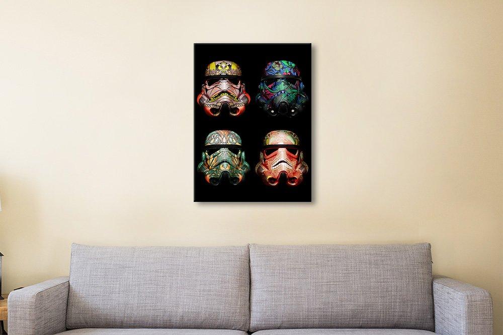 Stormtrooper Helmet Skull Art Online