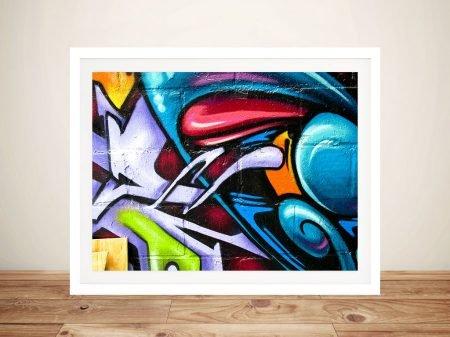 Buy Street Art Abstract Close-up Graffiti Art