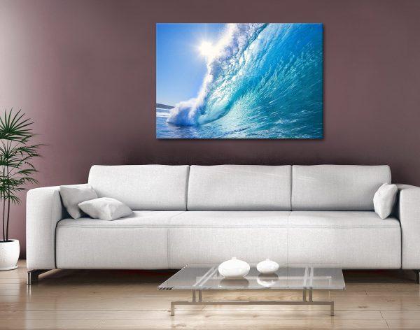 surf haze Canvas Artwork