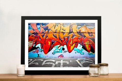 Graffiti Framed Wall Art