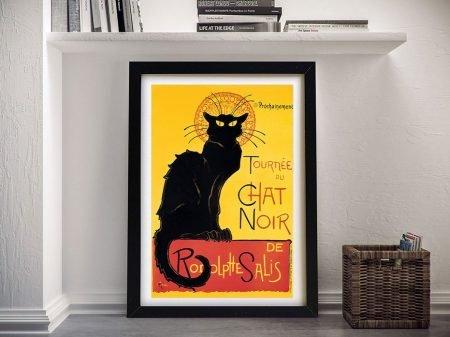 Chat Noir Vintage Advertising Poster Print