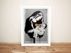 Buy a Toxic Mary Street Art Print by Banksy