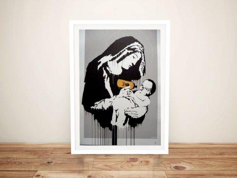 Buy a Toxic Mary Street Art Print by Banksy