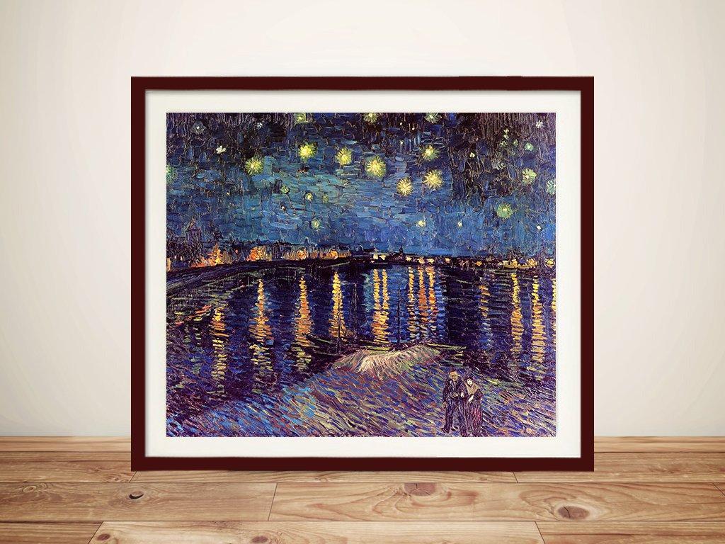 various sizes fine art giclee print poster Starry Night Van Gogh