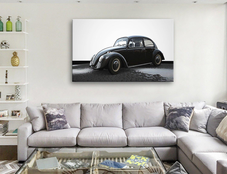 VW beetle Canvas Artwork