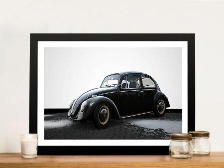VW Beetle Framed Wall Art