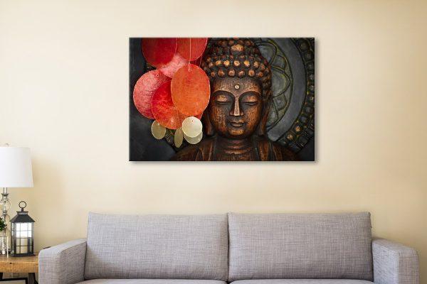 Calm Observer Buddha canvas print online