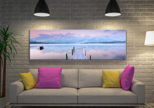 Buy Lake Tranquility Stunning Panoramic Art
