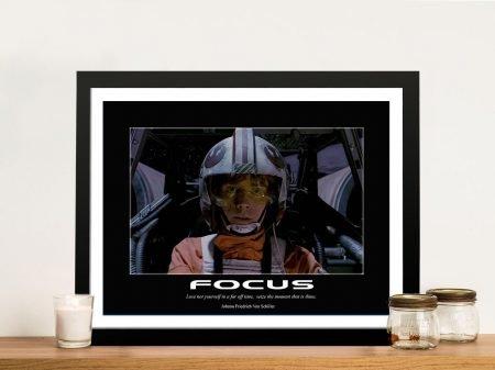 Buy Luke Skywalker Motivational Wall Art