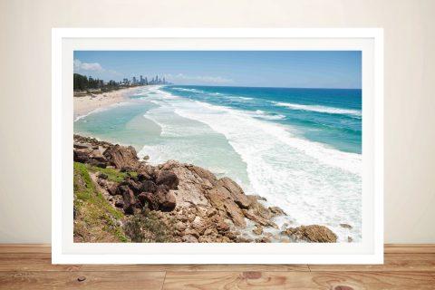 Miami Beach Queensland Framed Print