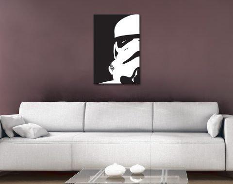 Ready to Hang Stormtrooper Pop Art AU