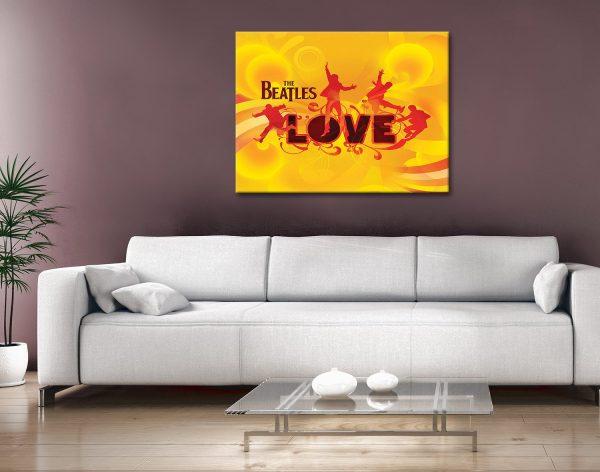 The beatles Canvas Artwork