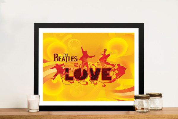 The Beatles Framed Wall Art
