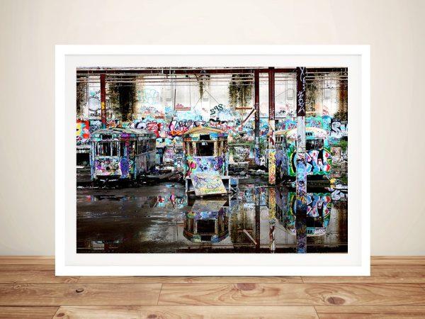 Buy Three Sentinels Tram Canvas Wall Art