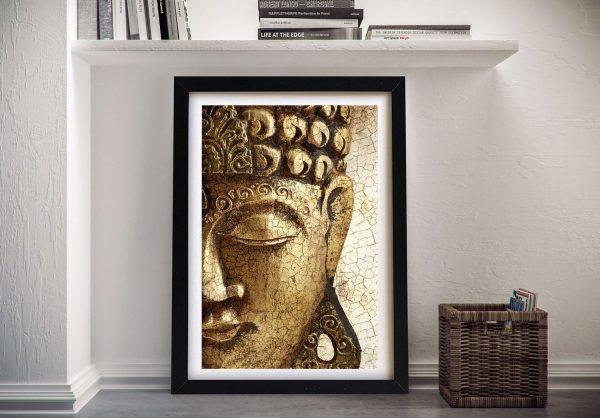 Vintage Buddha Framed Wall Art