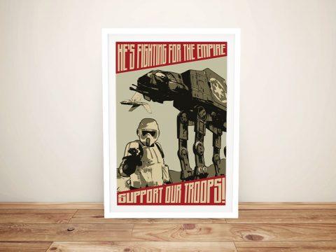 Buy a Framed Star Wars Propaganda Poster