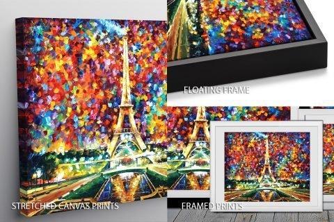 Paris of My Dreams Afremov