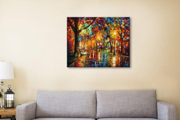 Colorful NightLeonid Afremov Contemporary Art