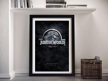 Jurassic World Framed Wall Art Prints Au
