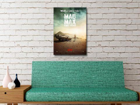 Mad Max Fury Road Canvas Artwork