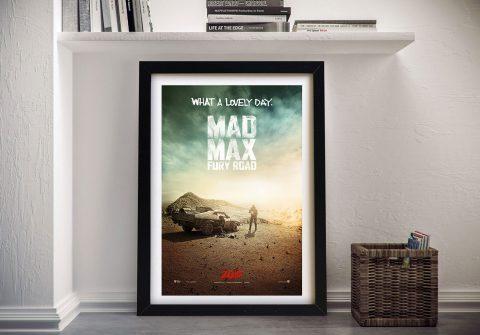 Mad Max Fury Road Framed Wall Art