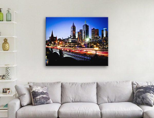 Buy Affordable Australian Skyline Art Online