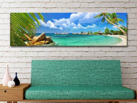 Buy Paradise Palms Cheap Framed Art AU